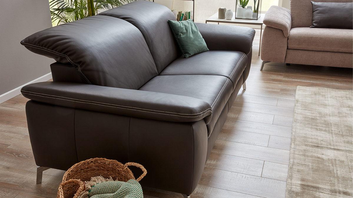 interliving sofa serie 4101 zweisitzer 8792 mit. Black Bedroom Furniture Sets. Home Design Ideas